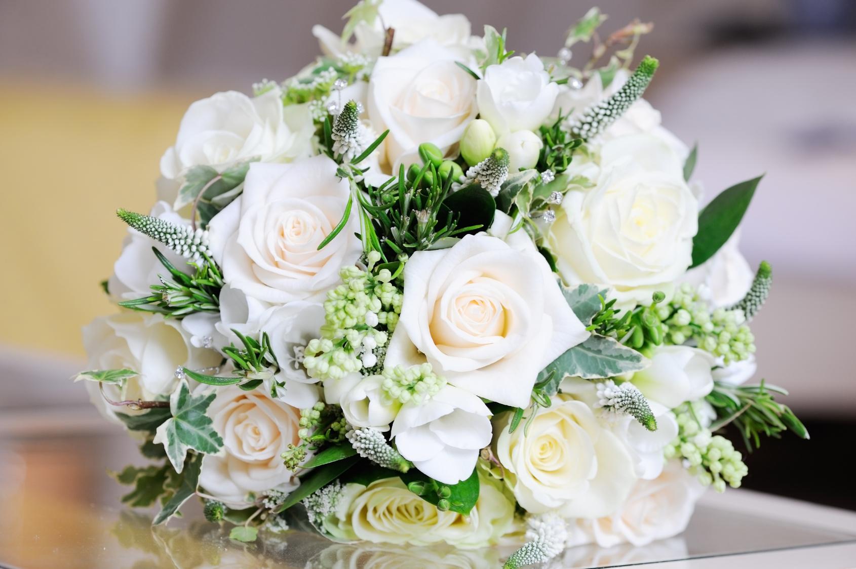 Фото белые цветы букеты